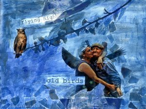Papiertanz old birds