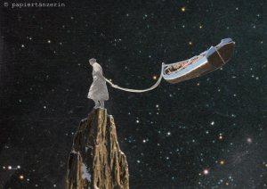 sternenreise by papiertänzerin