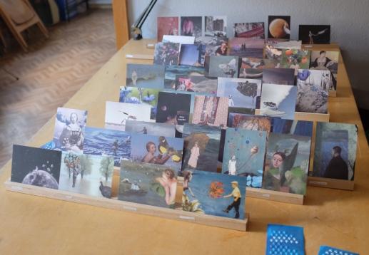 Meine Posiecollagen im Postkartenformat.